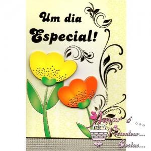 Cartão Aniversário modelo A 01