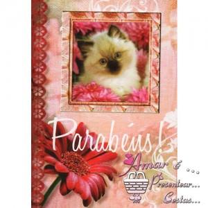 Cartão Aniversário modelo B 05
