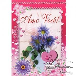 Cartão Romântico modelo B 01