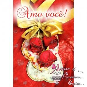 Cartão Romântico modelo B 07