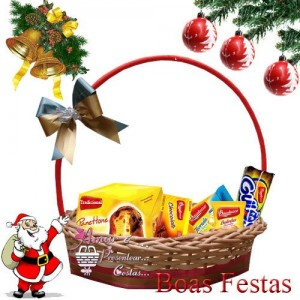 Cesta Natal Lembranças Para Você