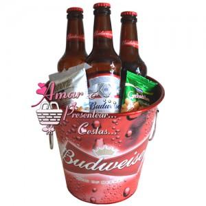 Balde Budweiser Dia dos Pais