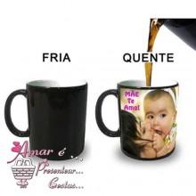 Caneca Mágica Personalizada com Foto