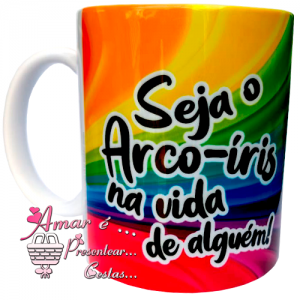 Caneca Arco Iris