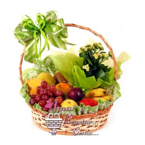 Cesta de Frutas e Complementos