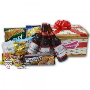 Baú Cervejas Budweiser e Aperitivos