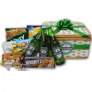 Baú Cervejas Heineken e Aperitivos