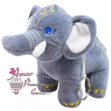 Elefantinho cinza