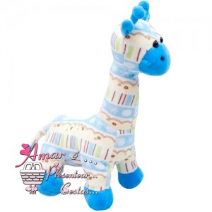 Girafinha Baby Azul