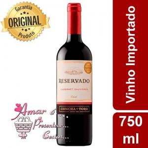 Vinho Reservado Concha y Toro - Importado Chile